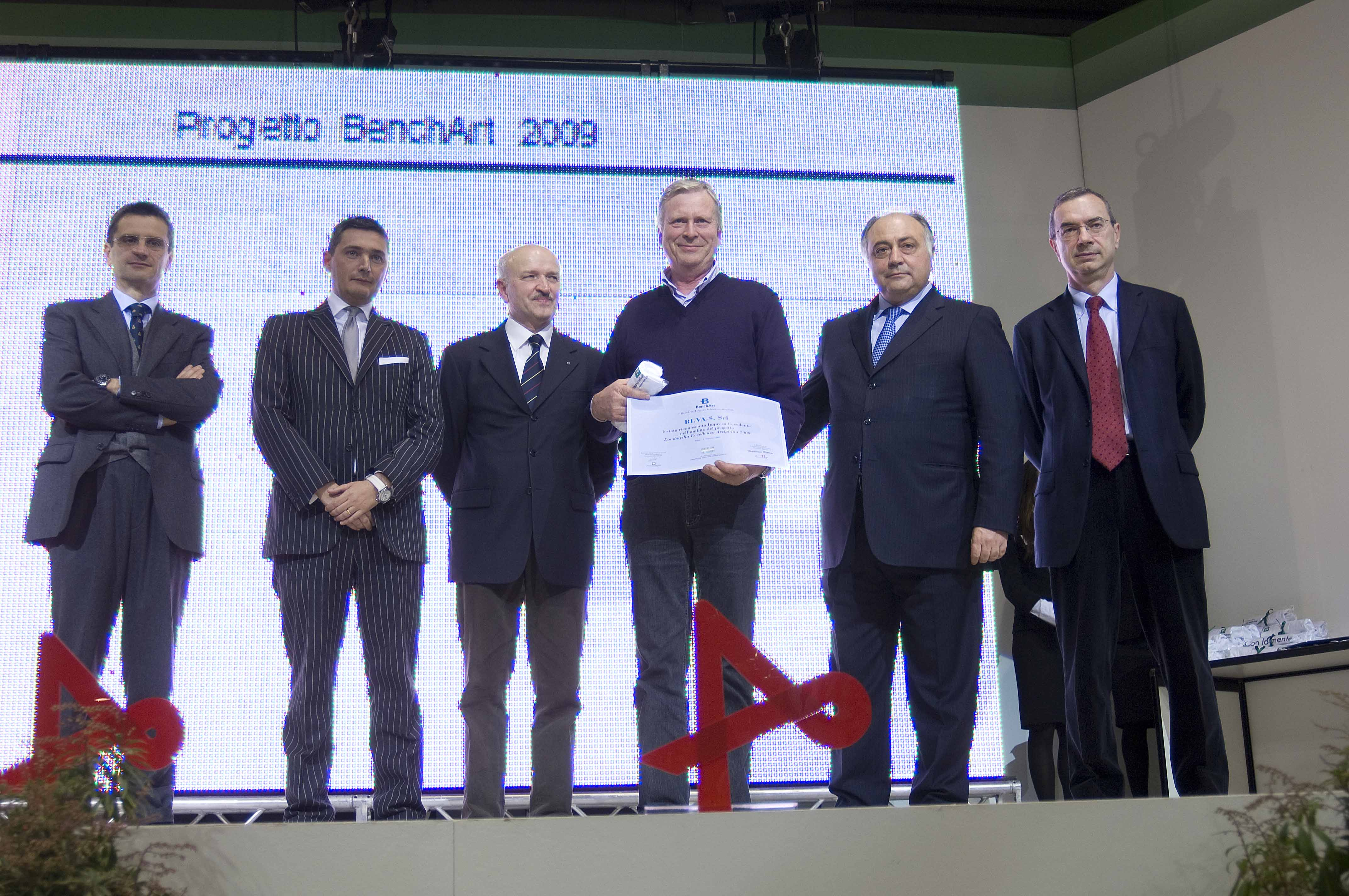 Premio eccellenza artigiana a RIVAS