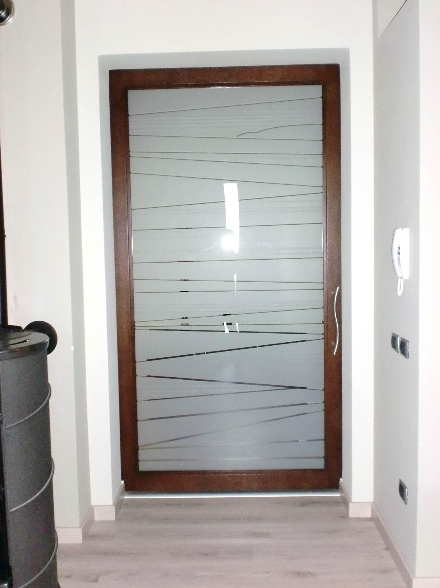 Famoso Realizzazioni: porte e portoni d'ingresso - Rivas artigianato e  FD85