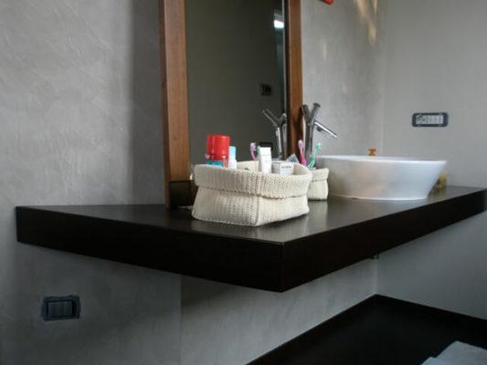 top bagno rovere