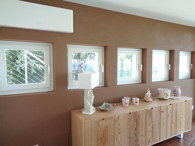 finestre laccate bianche