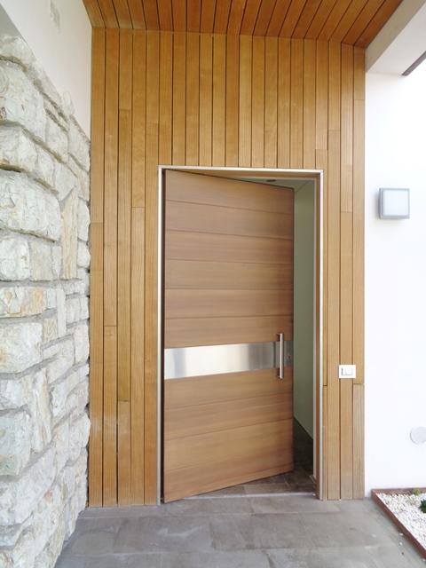 porta d'ingresso larice