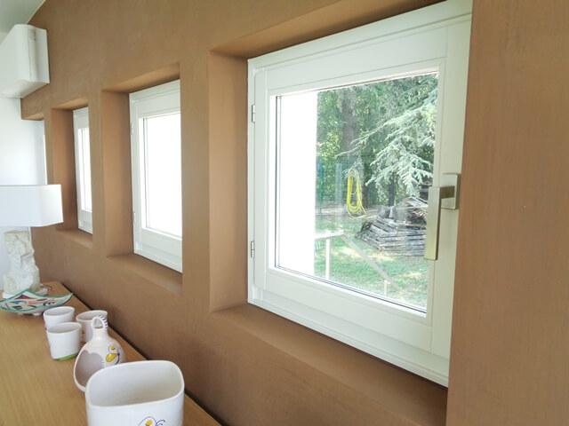 finestra laccata bianca mantova